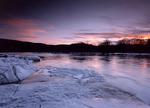 Sunset on the Delaware River
