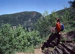 Hiker on Mount Minsi