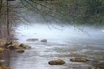 Fog on the Lehigh River