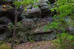 Shale Outcropping