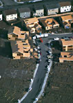 Home construction, aerial