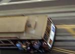 San Francisco Cable Car, blurred