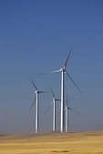 Wind turbines, Judith Gap Wind Farm