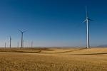 Wind turbines, Judith Gap Wind Farm