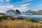 Seastacks at Myers Creek Beach, Curry County, Oregon