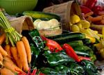 Organic produce at Farmers