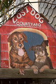 Cute mural, downtown Frederiksted, St Croix, US Virgin Islands