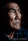 Moses Sam, A Gwich'in Indian elder.