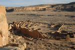 Pueblo Bonito, one of the most spectacular of all Chacoan ruins