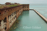 Fort Jefferson in the Dry Tortugas National Park, once served as a prison for Doctor Mudd, who attended to John Wilkes Booth following assassination of President Lincoln. The old moat was designed to prevent ladders from being thrown up against fort.