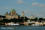 St. Lawrence Seaway, Chateau Frontenac and Vieux Quebec