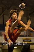 One foot high kick, World Eskimo Indian Olympics; Fairbanks, AK.