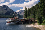 International Curise boat, docked at Goat Haunt but soon to return to Waterton Townsite in Waterton, Alberta. But here, it's still in Glacier National Park, Montana. USA