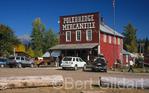 Polebridge Merc, located adjacent to Glaicer National Park's most northwestern entrance, Glacier NP, Montana. USA