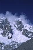 Avalanche, Kanchenjunga area, Nepal