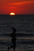 Runner dusk, Sarasota, Florida