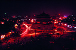 Xian China at night