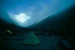 Camping, Mt Chomolari, Bhutan