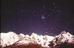 Mountains at dawn, Karakorams, Pakistan, Asia