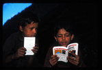Nepali kids studying Engish, Rowaling, Nepal, Asia