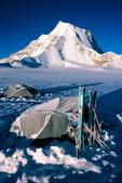 Camping & Skis, Gurla Mandhata, Tibet