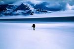 Snowshoer, Argentine Patagonian Ice Cap