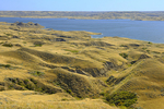 Coteau Hills and Lake Diefenbaker
