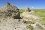 Buttes in Killdeer Badlands