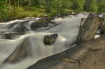 Rocks in Rushing River