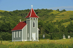St. Nicholas Anglican Church. Qu' Appelle Valley