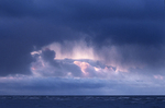 Storm clouds over Lake Winnipeg
