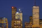 Toronto City at dusk