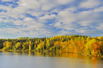 Autumn foliage on Lac Seul