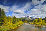 Kananaskis River and Rocky Mountains