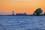Lighthouse on Lake Ontario at Port Dalhouise