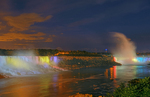 NIagara Falls - CAnadian and American