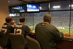 Lambeau Field Suite at Night in Green Bay, Wisconsin  810667