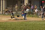 Boys Baseball Play at Third  612056