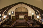 First United Methodist Church Interior Viewed from Balcony in Escanaba Michigan  816248