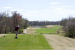 Golfer Teeing Off on 11th Hole on President's Reserve of Hermitage Golf Course in Old Hickory Tennessee  821788