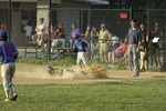 Boys Baseball Play at Third  612057