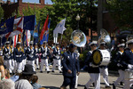Randolph-Macon Academy Band in Holland Tulip Time Parade  700671
