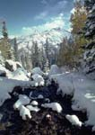 Autumn snow at Dream Lake, Rocky Mountain National Park