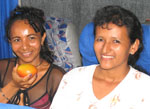 Two Ecuadorian women, leaders of a womens's group in the coastal region of  Ecuador.