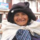 Beggar woman, Ecuador