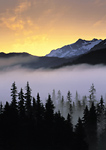 Sunrise on the Kenai Peninsula near Seward, Alaska