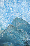 Icebergs at the base of Sawyer Glacier, Tracy Arm-Fords Terror Wilderness, Tongass National Forest, Alaska
