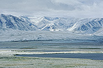 July snow at Galbraith Lake and Atigun Valley, Brooks Range, arctic Alaska