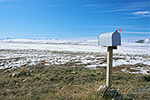 A lonely mailbox on the arctic tundra near the Toolik Lake Research Station, north slope of the Brooks Range, Alaska