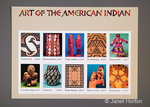 2004 - 37 cent Art of the American Indian commemorative postage stamp sheet